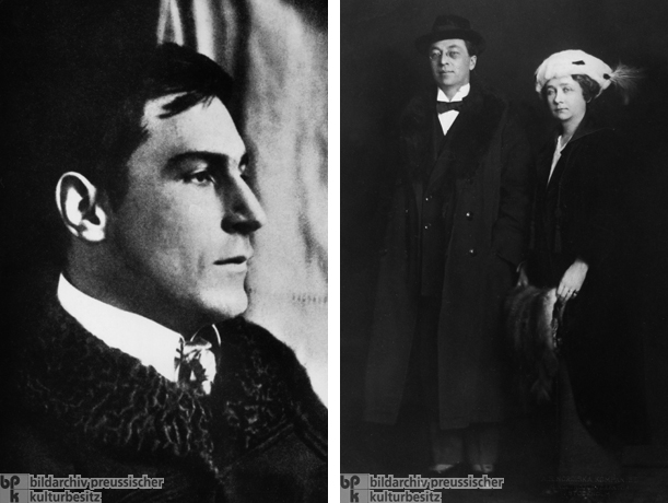 Franz Marc (c. 1913); Wassily Kandinsky and Gabriele Münter (1916)