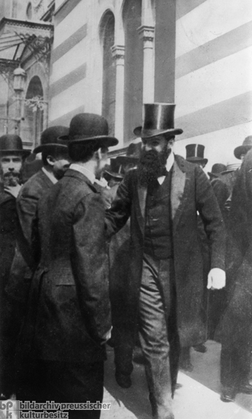 Theodor Herzl i The Jewish