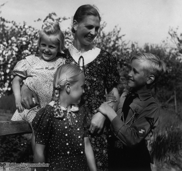 Mother with Three Children (1939)
