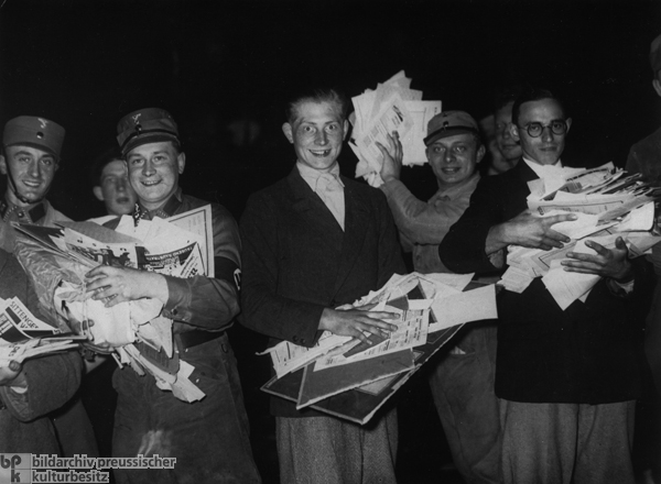 Against the Un-German Spirit: Book-Burning Ceremony in Berlin (Image 2) (May 10, 1933)