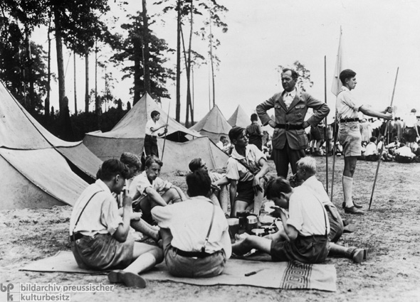 Youth League Camp Site (1933)