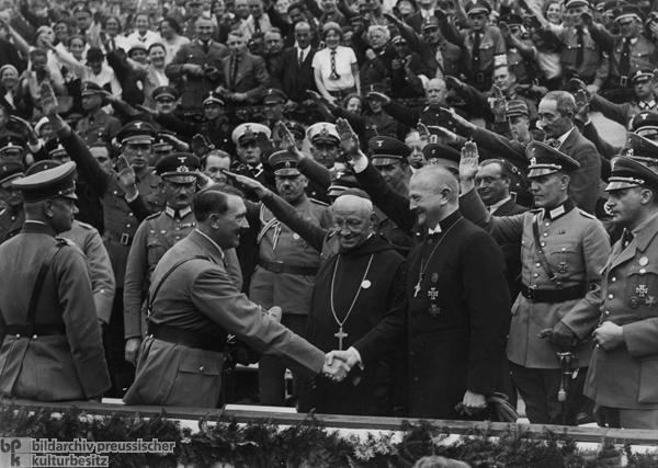 hitler religion and christianity