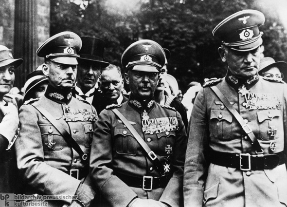 Reichswehr Generals at a Military Parade in Berlin (June 1, 1934)