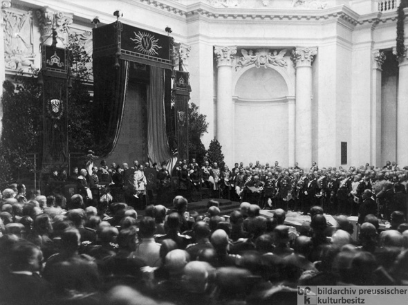 Inauguration of the Reichstag (December 5, 1894)