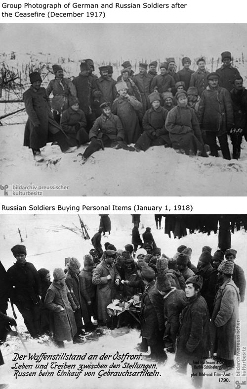 The Ceasefire on the Eastern Front (1917)