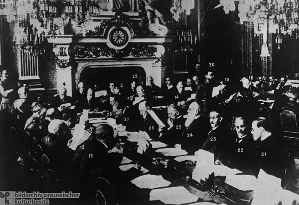 The Paris Peace Conference (January 18, 1919-January 21, 1920)
