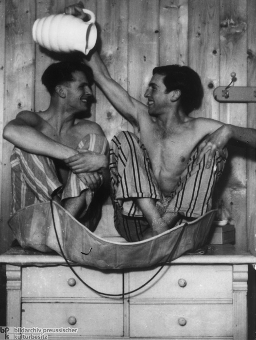 "Christoph Probst and Alexander Schmorell of the Student Resistance Group ""White Rose"" (1941)"