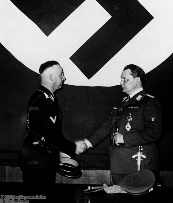 Hermann Göring, Chief of the State Secret Police Office, names Heinrich Himmler Deputy Chief and