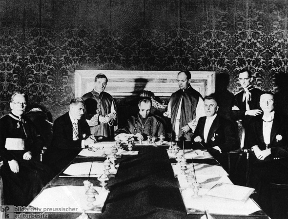 Signing of the Reich Concordat (July 20, 1933)