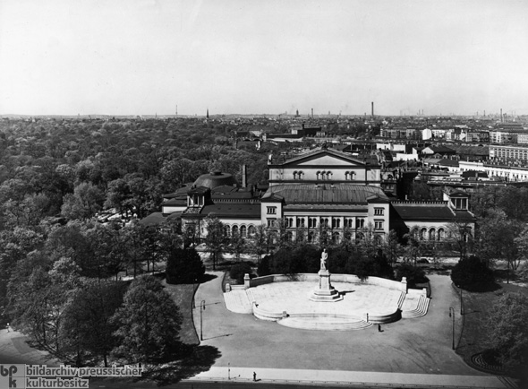 View of the Kroll Opera House, where the Reichstag Met after the Reichstag Fire (1938)