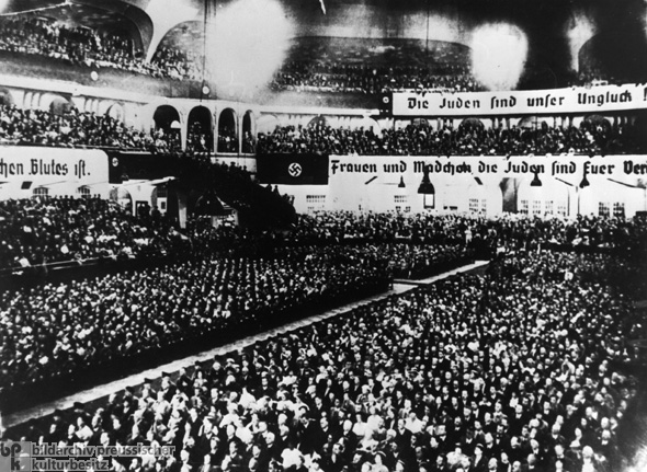 NSDAP Mass Rally at the <I>Sportpalast</I> in Berlin (August 15, 1935)