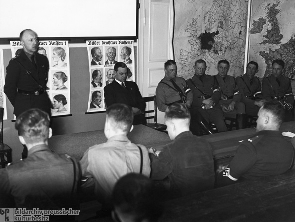 Lessons in Racial Politics at a Hitler Youth Leadership School (c. 1935)