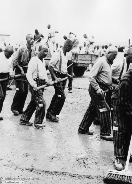 Prisoners Doing Leveling Work at the Dachau Concentration Camp (May 24, 1933)
