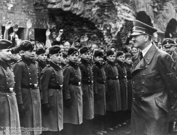 Adolf Hitler Visits the National Political Educational Institute [<i>Napola</i>] in Graz (April 1941)