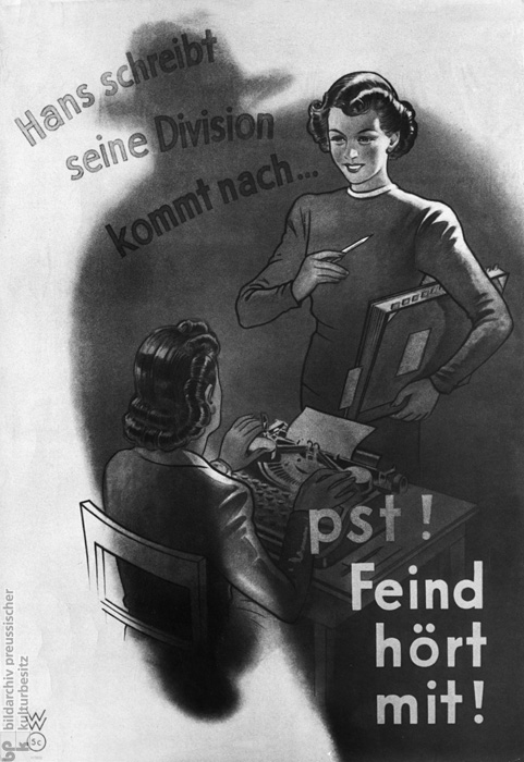 The Defense of the Home Front: The Enemy is Listening In (1942)