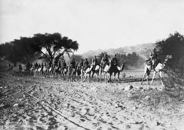 Camel Rider Troops (1907)