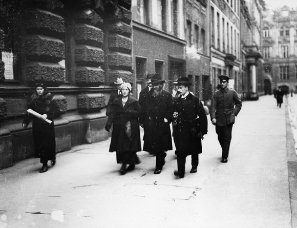 Kurt Eisner on his Way to the Bavarian State Parliament (Early 1919)