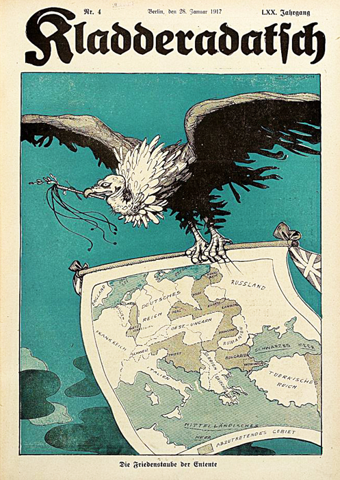 "The ""Peace Dove"" of the Entente (January 1917)"