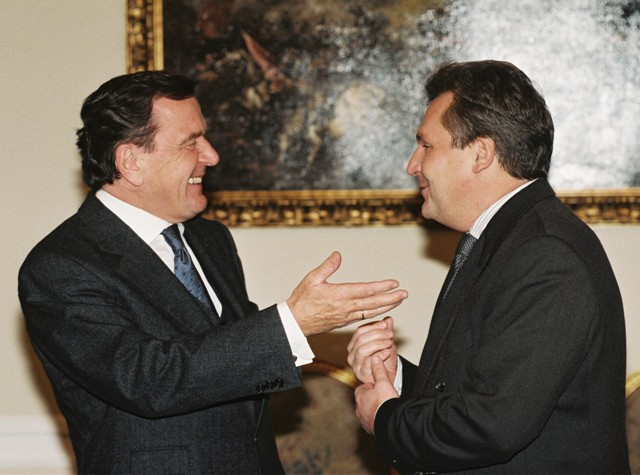 German-Polish Consultations: Gerhard Schröder and Aleksander Kwaśniewski (November 5, 1998)