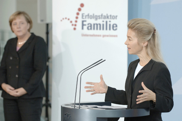 Ursula von der Leyen, Federal Minister for Family Affairs, Senior Citizens, Women and Youth (October 16, 2006)