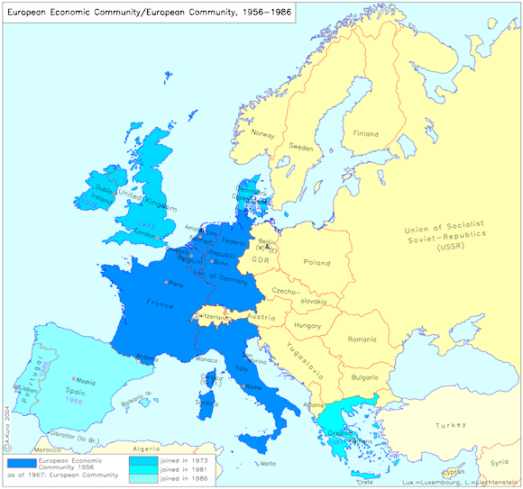 European Economic Community/European Community (1956-1986)