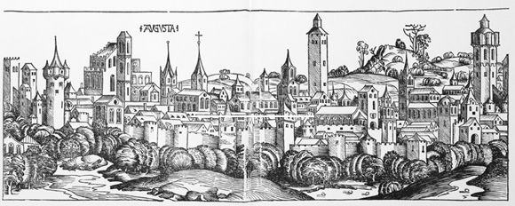 Augsburg around 1500 (1493)