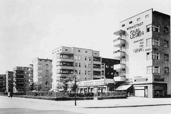 Bruno Taut, Carl Legien Housing Settlement in Berlin (built 1928-30)